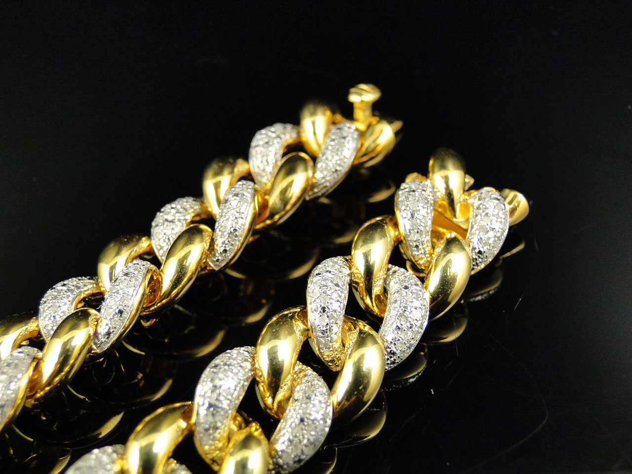 real sparkles gold diamond in diamonds cst earrings