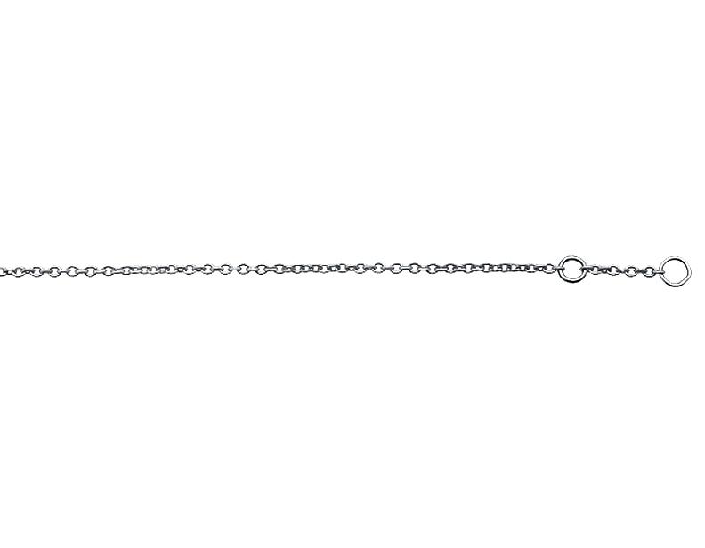 "1/"" 14K Or Jaune Infinity Symbole Bracelet 10/"""