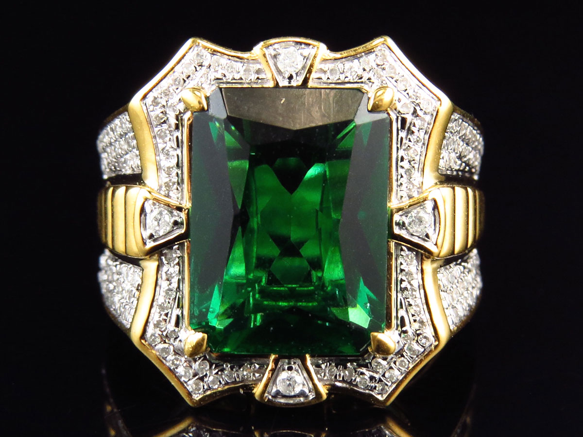 synthetic ring look rings jewelry for and round you differences between natural women can the emerald real