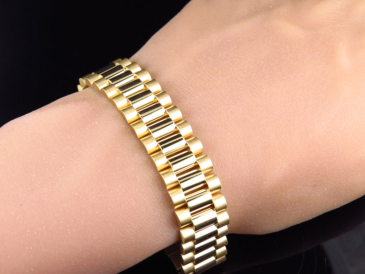 clasp ct solid products bracelet gold with part tw bangle three bangles diamond and