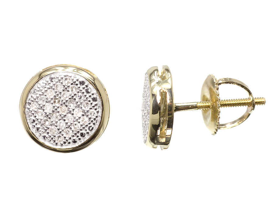 stud earrings bar gold dipped flat watford